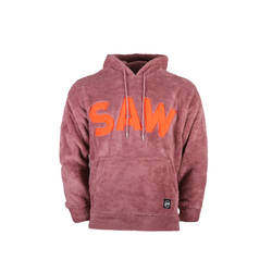 Saw - Saw - Time Of Choose Bordo - Turuncu Hoodie