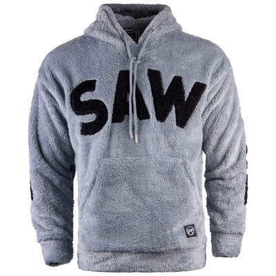 Saw - Saw - Time Of Choose Gri - Siyah Hoodie
