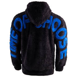 Saw - Time Of Siyah Peluş Hoodie - Thumbnail