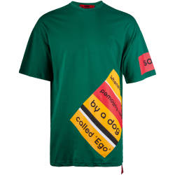 Saw - Whenever I Climb Yeşil T-shirt - Thumbnail