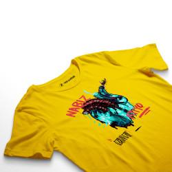 HH - Şehinşah Heart Beat (Nabız) Sarı T-shirt - Thumbnail