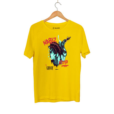 Şehinşah - HH - Şehinşah Heart Beat (Nabız) Sarı T-shirt (Fırsat Ürünü)