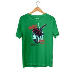 HH - Şehinşah Heart Beat (Nabız) Yeşil T-shirt - Thumbnail