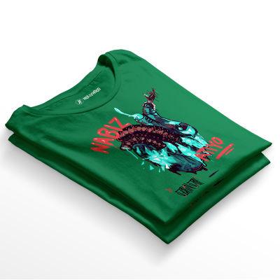 HH - Şehinşah Heart Beat (Nabız) Yeşil T-shirt