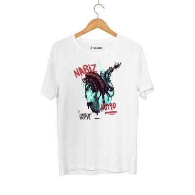 HH - Şehinşah Heart Beat (Nabız) Beyaz T-shirt (Fırsat Ürünü)