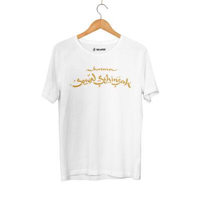 HH - Şehinşah Karma Beyaz T-shirt