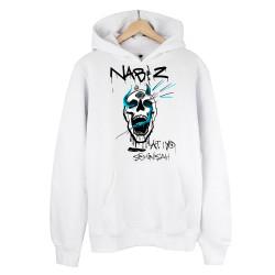 Şehinşah - HH - Şehinşah Skull Beat Beyaz Hoodie