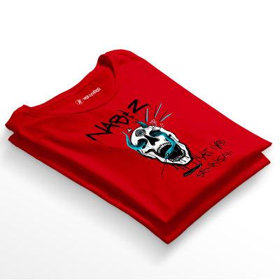 HH - Şehinşah Skull Beat Kırmızı T-shirt (Fırsat Ürünü)