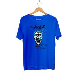 HollyHood - Şehinşah Skull Beat Mavi T-shirt - Thumbnail