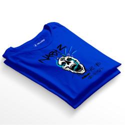 HH - Şehinşah Skull Beat Mavi T-shirt - Thumbnail