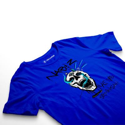 HH - Şehinşah Skull Beat Mavi T-shirt