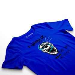 HH - Şehinşah Skull Beat Mavi T-shirt (Fırsat Ürünü) - Thumbnail