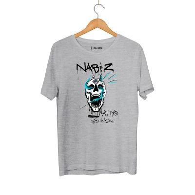 HH - Şehinşah Skull Beat Gri T-shirt