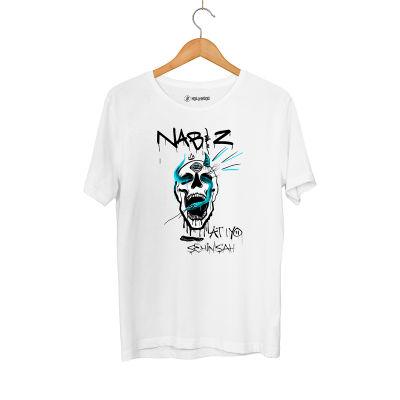Şehinşah - HH - Şehinşah Skull Beat Beyaz T-shirt (Fırsat Ürünü)