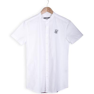SikSilk - Rose Beyaz Gömlek