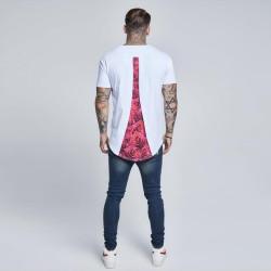 SikSilk - SikSilk - Rose Beyaz Gömlek