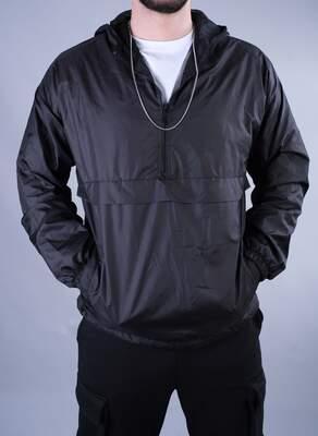 Siyah Kanguru Yağmurluk