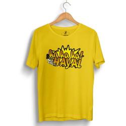Sokrat St - HollyHood - Sokrat Hayal Sarı T-shirt