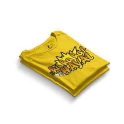 HH - Sokrat Hayal Sarı T-shirt - Thumbnail