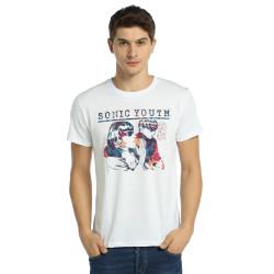 Bant Giyim - Sonic Youth Goo Beyaz T-shirt - Thumbnail