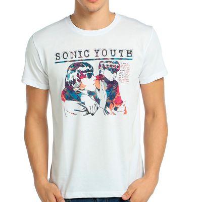 Bant Giyim - Sonic Youth Goo Beyaz T-shirt
