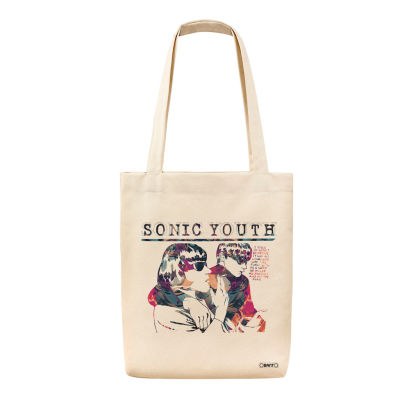 Bant Giyim - Bant Giyim - Sonic Youth Goo Tote Bez Çanta