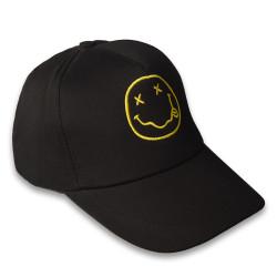 HollyHood - Smile Siyah Şapka