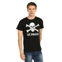 Bant Giyim - St. Pauli Siyah T-shirt - Thumbnail