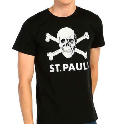 Bant Giyim - St. Pauli Siyah T-shirt