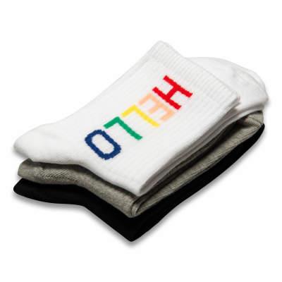 Hello Beyaz Çorap