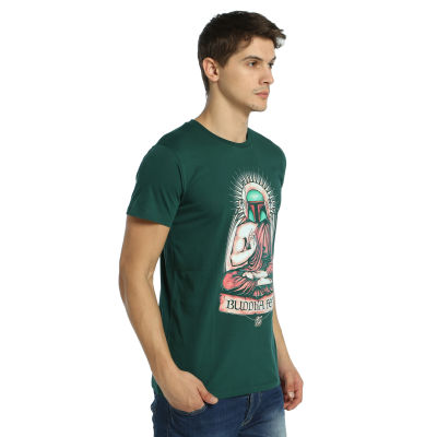 Bant Giyim - Star Wars Buddha Fett Boba Fett Yeşil T-shirt