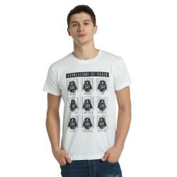 Bant Giyim - Star Wars Darth Vader Beyaz T-shirt - Thumbnail