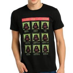 Bant Giyim - Star Wars Darth Vader Siyah T-shirt - Thumbnail