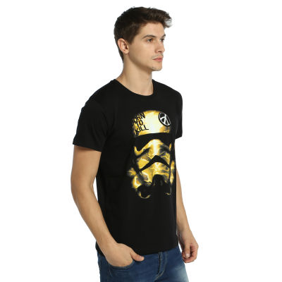 Bant Giyim - Star Wars Trooper Siyah T-shirt