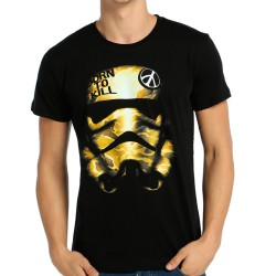Bant Giyim - Star Wars Trooper Siyah T-shirt - Thumbnail