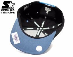 Starter Mavi Siyah Snapback Cap - Thumbnail