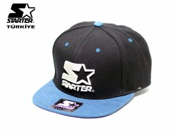Starter - Starter Mavi Siyah Snapback Cap