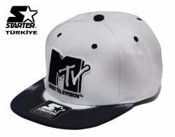Starter - Starter MTV Beyaz Snapback Cap