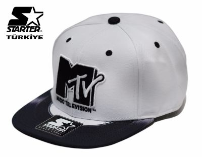 Starter MTV Beyaz Snapback Cap