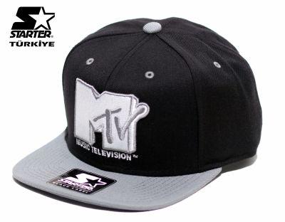 Starter - Starter MTV Gri Snapback Cap