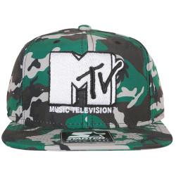 Starter - Starter MTV Kamuflaj Snapback Cap