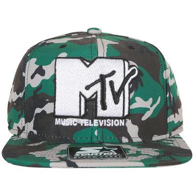 Starter MTV Kamuflaj Snapback Cap