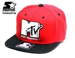 Starter - Starter - MTV Red Snapback Cap