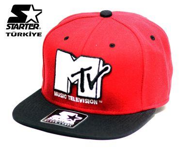Starter - MTV Red Snapback Cap