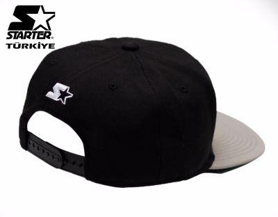 Starter Negro Snapback Cap