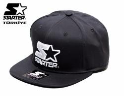 Starter - Starter Siyah Logo Snapback Cap