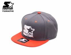 Starter - Starter - Turuncu Gri Snapback Cap