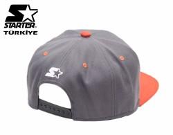 Starter - Turuncu Gri Snapback Cap - Thumbnail