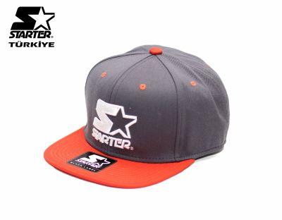 Starter - Turuncu Gri Snapback Cap
