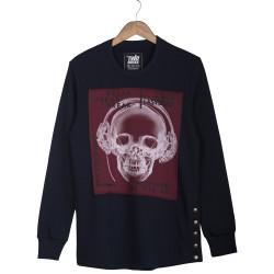 Two Bucks - Two Bucks - Never Mind Lacivert Sweatshirt